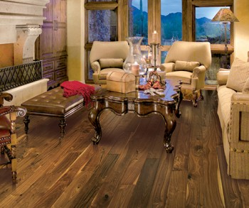 Hallmark Hardwoods Walnut Natural  Heirloom hardwood flooringcollection