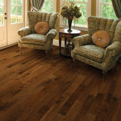 American Walnut Cordial from the Heirloom hardwood flooring collection by Hallmark Hardwoods | Hallmark Floors
