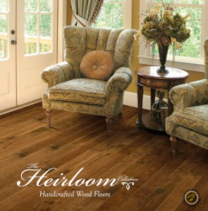 American Walnut Cordial from the Heirloom hardwood flooring collection by Hallmark Hardwoods