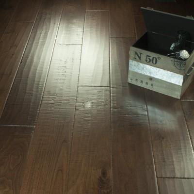 Saddle Chaparral Vignette Hardwood Flooring Hallmark Hardwoods