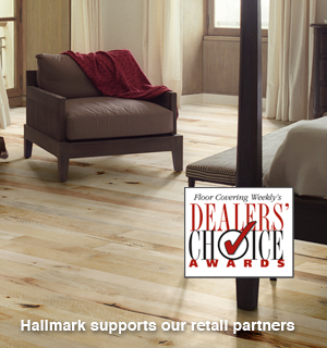 Organic Anise Hardwood Flooring Dealers' Choice Award by FCW