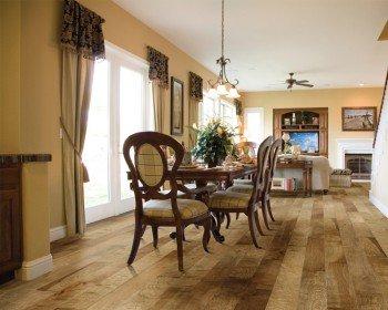 Silverado Driftwood Hardwood Flooring by Hallmark Floors