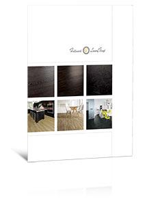 Hallmark Floors' Luxury Vinyl pdf Brochure Ecover for the website.