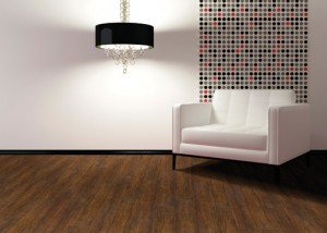 Hallmark Luxury Vinyl's Granada Walnut Commercial Vinyl Flooring