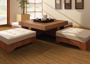 San Simeon Luxury Vinyl Flooring San Sebastian Strand Bamboo from the El Dorado Collection