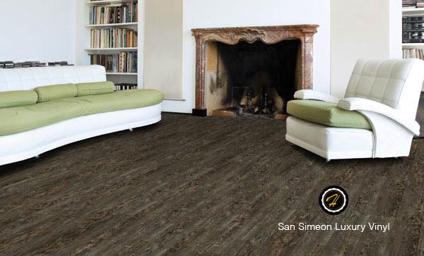 Iberian Oak Vinyl Flooring by Hallmark Floors.