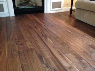 Historic Oak is color in the Alta Vista collection by Hallmark Hardwoods
