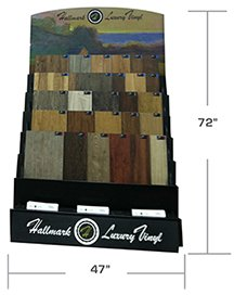 Hallmark Floors' Luxury Vinyl Display for Hallmark Luxury Vinyl