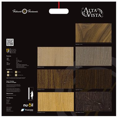 Hallmark Floors' Collections Hand Boards or Deck Boards for samples Back