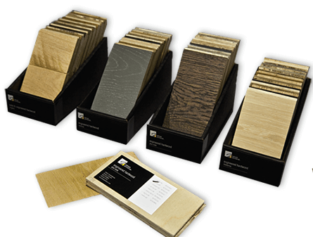 Hallmark Floors Commercial Chip Boxes for Hardwood and Luxury Commercial flooring products