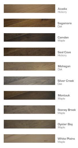 Moderno Hardwood Flooring Collection