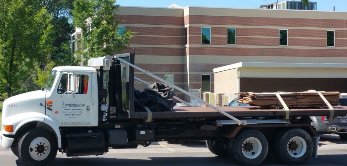 Truck for Intermountain Wood Products