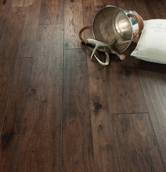 Casita Hickory Vignette from the Monterey Hardwood Floors Collection