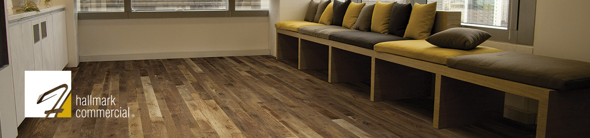Organic commercial hardwood flooring by hallmark floors inc for Commercial hardwood flooring