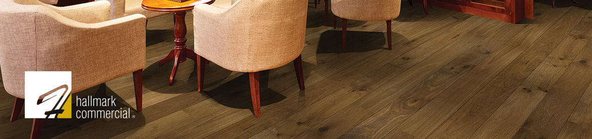 Ventura Mangrove Commercial Room Scene by Hallmark Floors