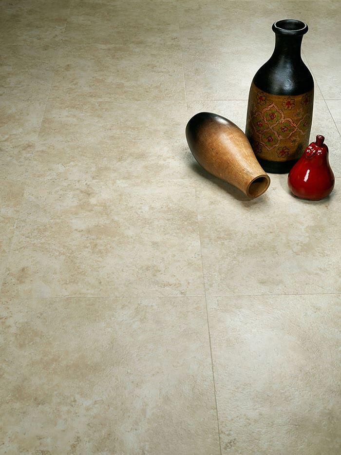 Avorio Hermosa Stone, Hallmark Luxury Vinyl Flooring Collection by Hallmark Floors.