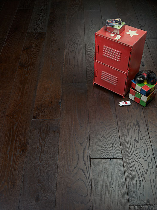 A vignette of Morro Bay Alta Vista Hardwood Flooring Collection by Hallmark Floors