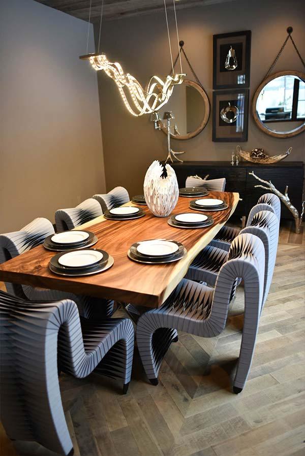 Organic Tulsi Dining Room