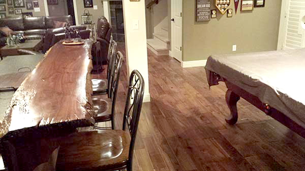 Heirloom Natural Walnut installed in home