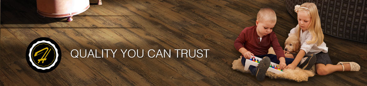 Hallmark vinyl flooring collections is a superior commercially graded product.