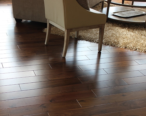 Heirloom Natural Walnut Installation by MacDonald Hardwoods