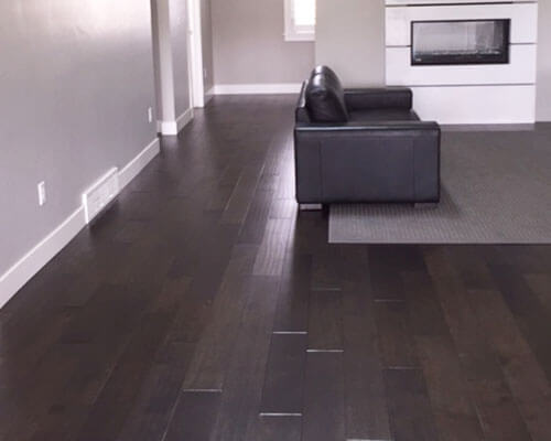 Silverado Dark Chocolate installation by infinity Flooring