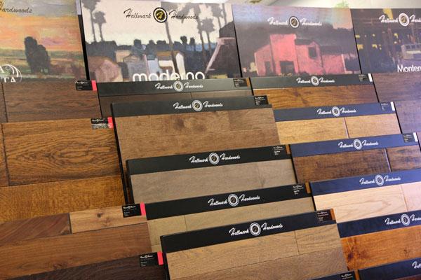 Hallmark Floors Displays at Cardoza Flooring
