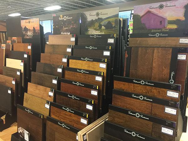 Hallmark Floors Displays at ProSource of Canton MA