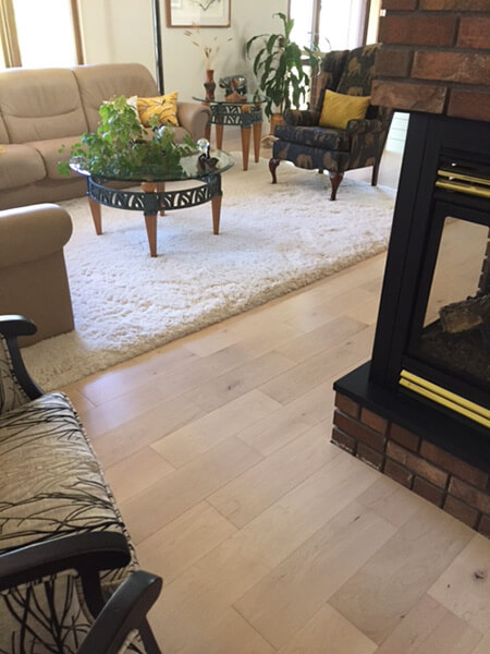 Moderno White Plains installation fireplace