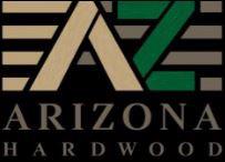 Arizona Hardwood Floor Black Logo