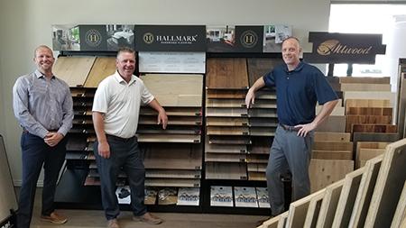 Arizona Hardwood Floor with Hallmark Floors large hardwood flooring display