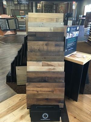 Barronu0027s Abbey Hallmark Floors Hardwood Display Barronu0027s Abbey Organic  Solid Hallmark Dispplay
