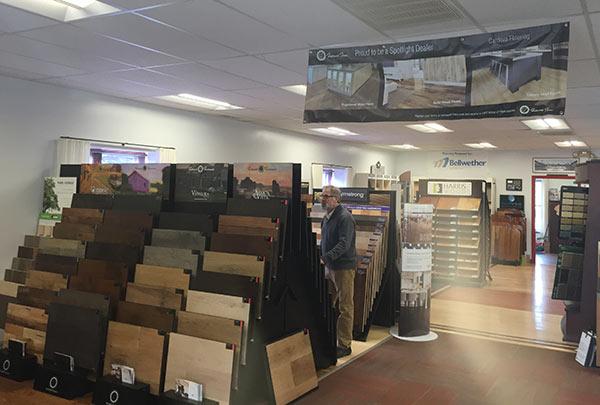 Cardoza Flooring Showroom