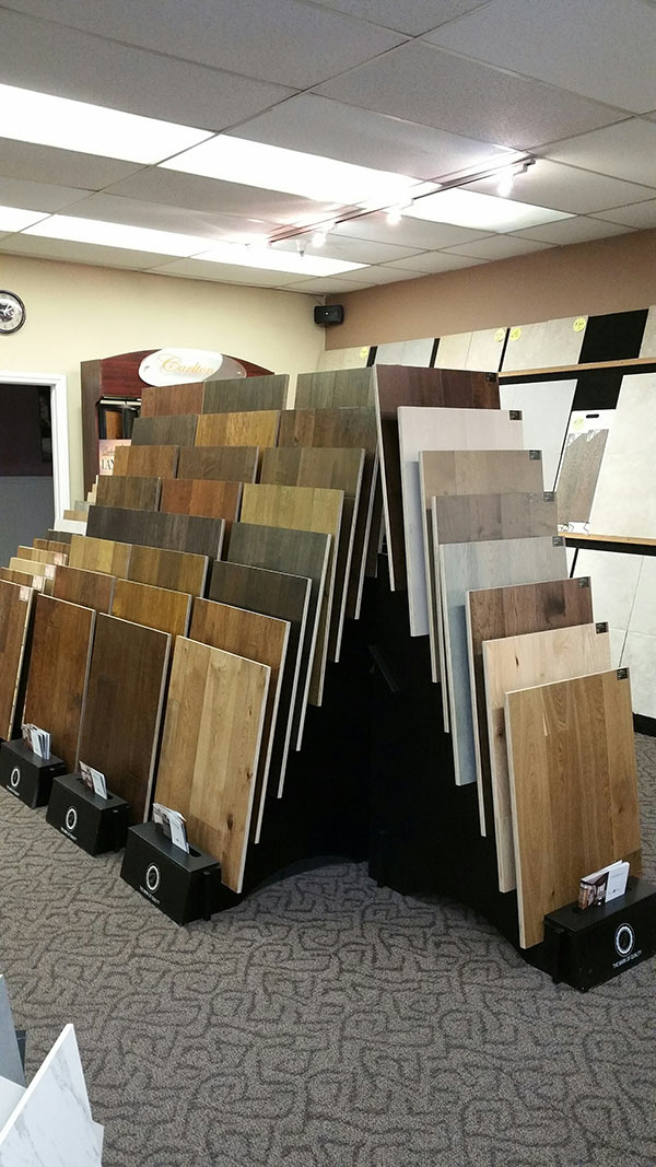 Hallmark Floors Display At Belmont Carpets