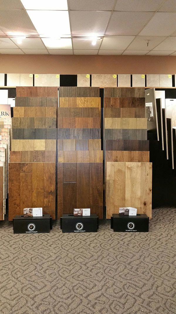 Belmont Carpets Wood Flooring Show Room