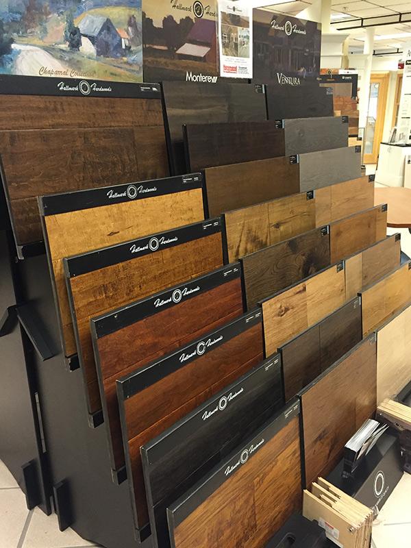Hammond Lumber showroom featuring Hallmark Floors