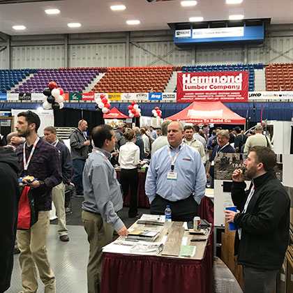 Hammond Lumber trade show at Augusta Maine Civic Center
