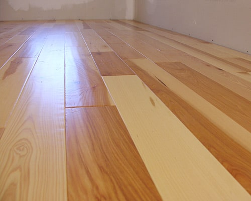 Heirloom Natural Walnut installation