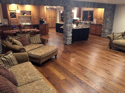 Hallmark Hardwoods Monterey Puebla installation in Fairbank, NY | Hallmark  Retailer by Hardwood Outlet - Hallmark Hardwoods Flooring Is Perfect For Any Living Space Or Home