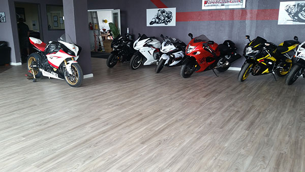 Rigid flooring verses vinyl floors starts with understanding the pros and cons of each type of flooring. Springfield, Birch, 12 Mil Waterproof Flooring