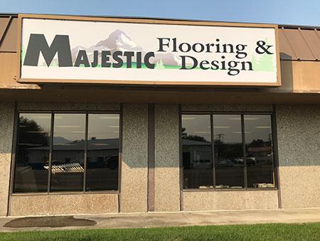 Majestic Flooring Idaho Storefront