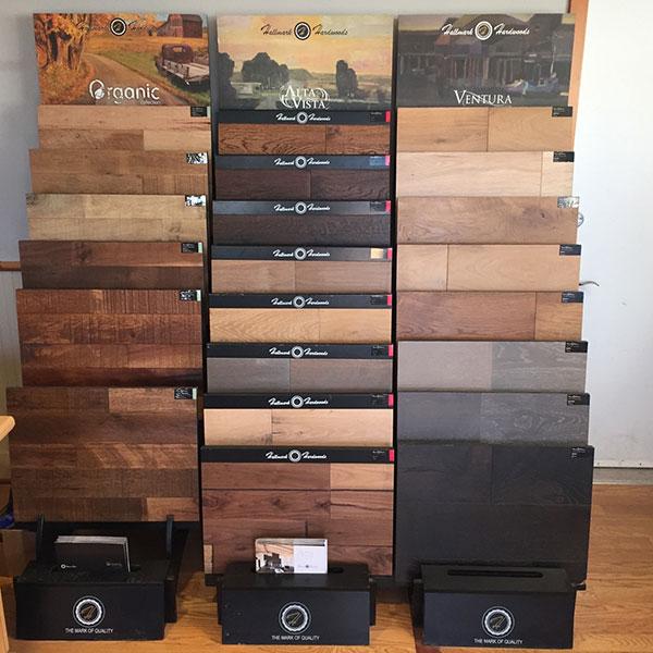 Hallmark Floors Display in Robinson Hardwood & Home