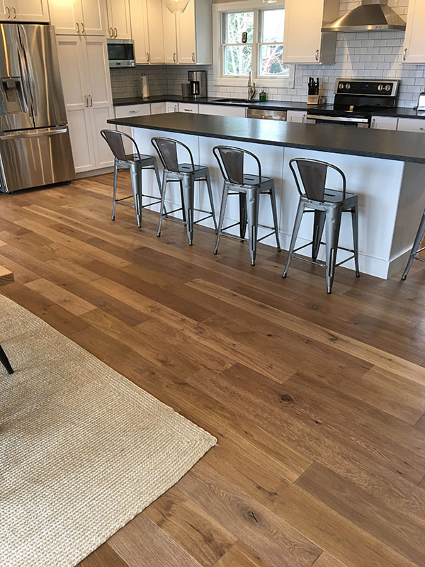 novella Twain install in kitchen by Village Home Stores