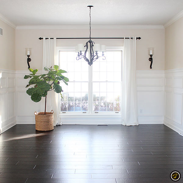 dark hardwood floors light walls home design hallmark floors. Black Bedroom Furniture Sets. Home Design Ideas