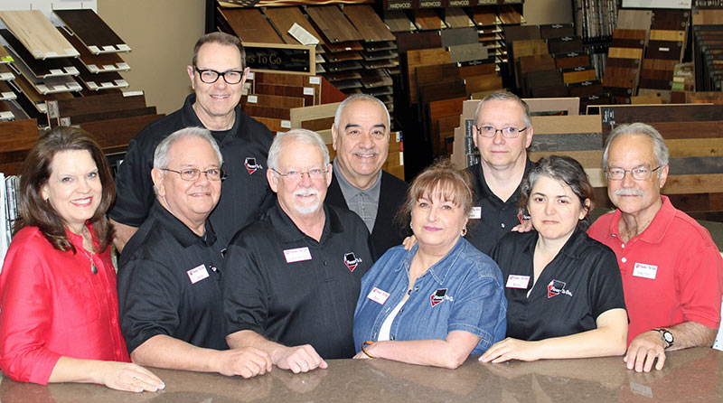 Floors to Go Team in Fort Worth TX are a Top Rated flooring retailer.