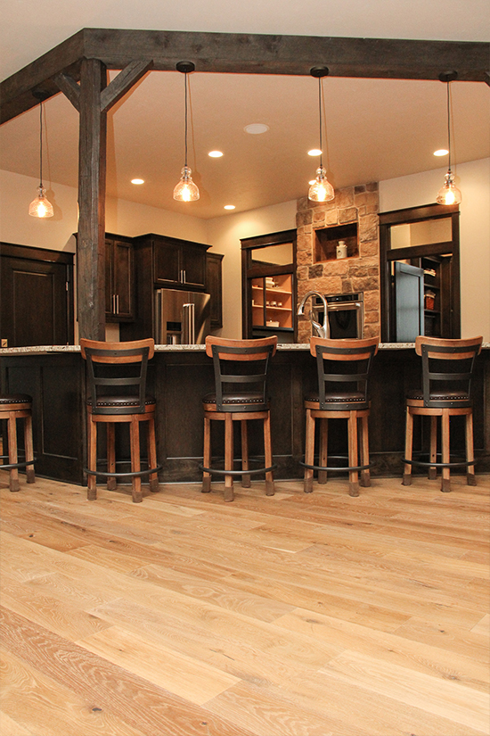 Hallmark Floors Novella Hemingway Eningeered Hardwood installation by HJ Martin and Son