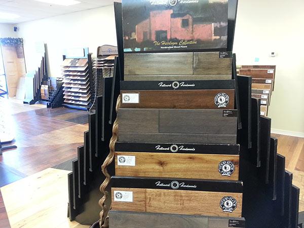 Heirloom Display at The Wood Floor Store in Tulsa - The Wood Floor Store & More LLC Hallmark Floors Dealer