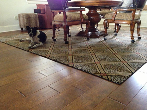 Flooring installation craftsmanship by Floors to Go in Fort Worth, servcing the surrounding community to 30 years..