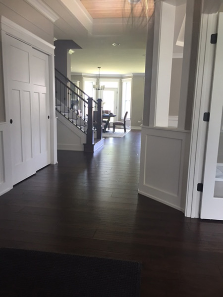 Wood Flooring inc installation