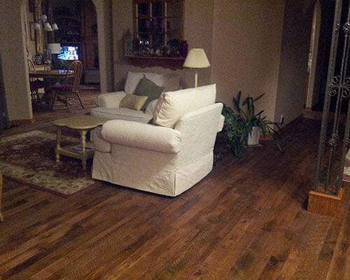 Organic Solid Moroccan Floors Installation In Wichita Ks Hallmark